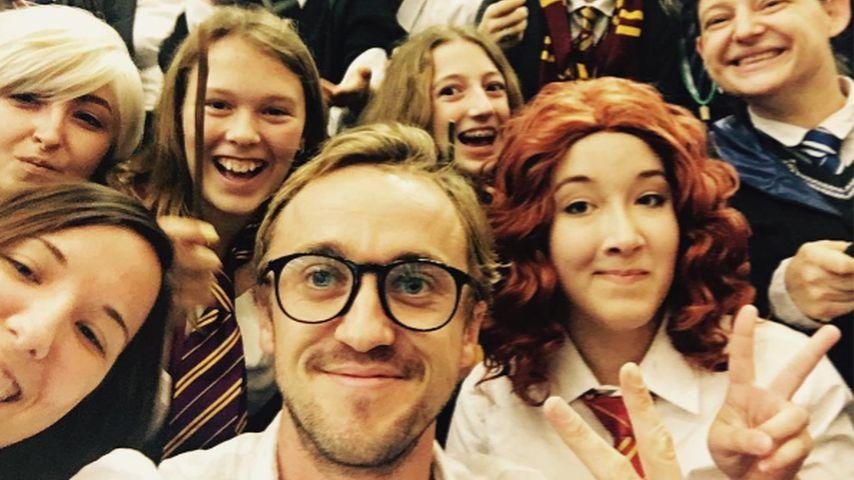 Der bessere Harry Potter? Tom Felton ganz anders mit Brille