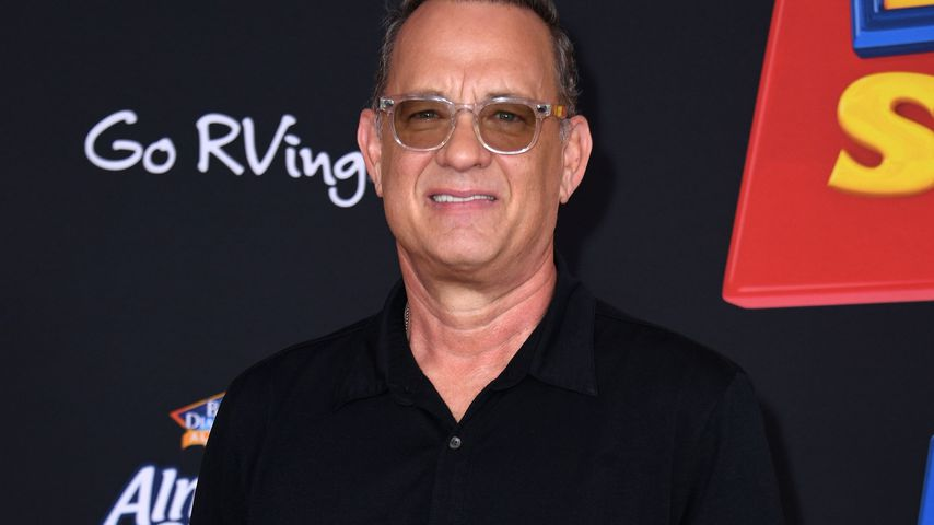 "Tom Hanks bei der ""Toy Story 4""-Premiere in Hollywood im Juni 2019"