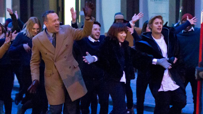 Justin Bieber, Tom Hanks und Carly Rae Jepsen