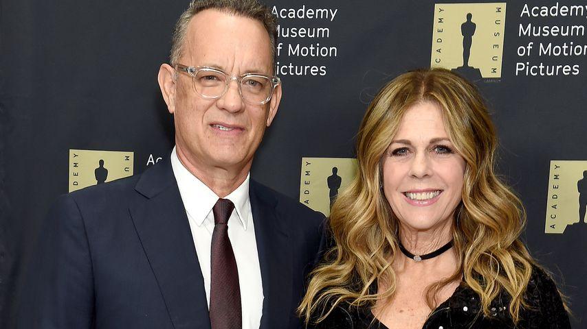 Tom Hanks und Rita Wilson, Dezember 2018