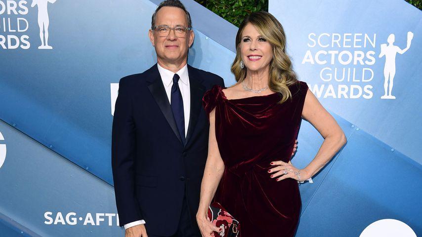 Tom Hanks und seine Frau Rita Wilson bei den Screen Actors Guild Awards