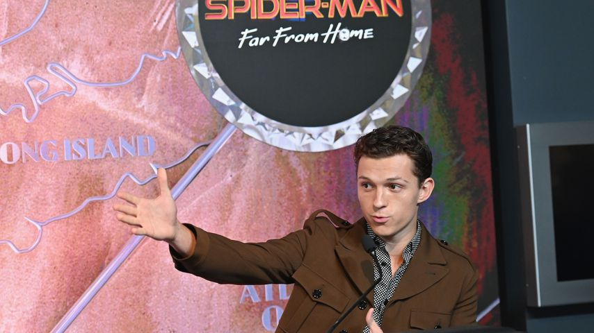 "Tom Holland, ""Spider-Man""-Star"