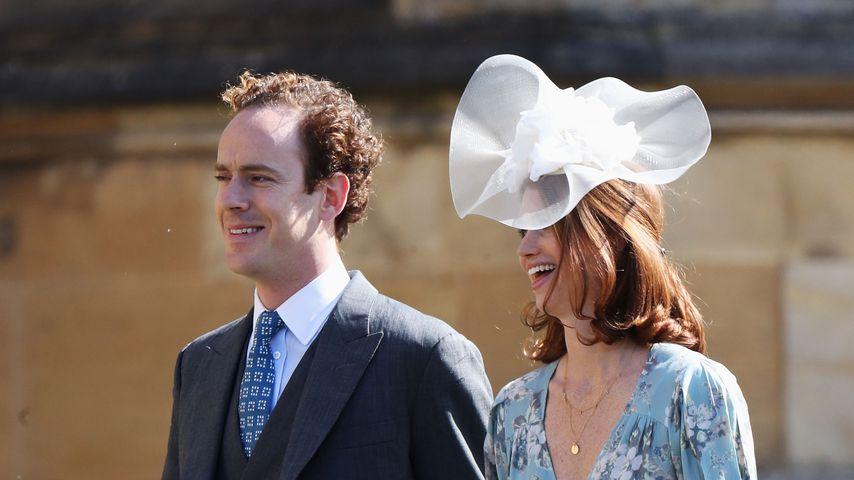 Tom Inskip und seine Frau Laura auf der Hochzeit von Prinz Harry und Herzogin Meghan