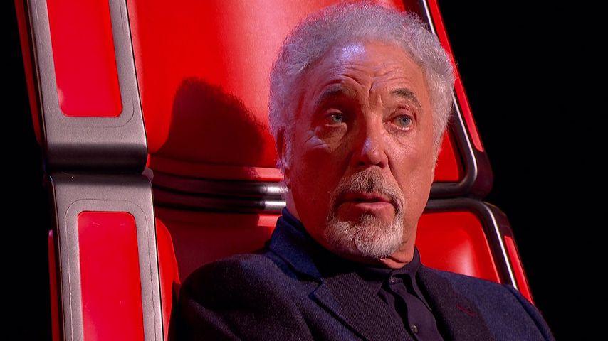 """Tom Jones, Juror bei """"The Voice UK"""""""