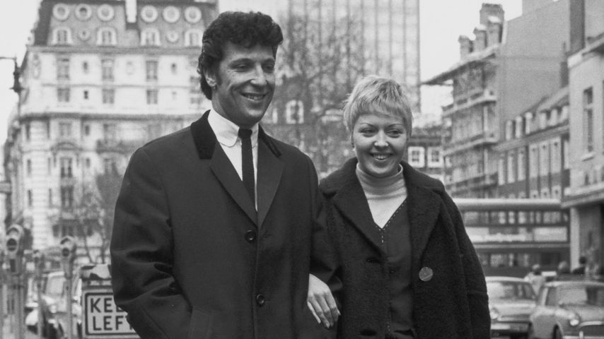 Tom Jones und Melinda Rose Woodward 1965