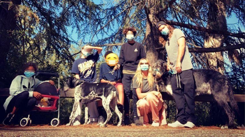 Auf ins Grüne: Heidi Klum macht Ausflug mit Kids und Tom