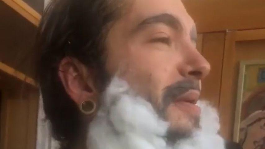 Tom Kaulitz bei seinem Halloween-Make-over