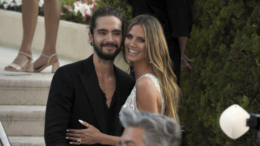 Verliebte Blicke: Tom Kaulitz für Heidi Klum bei GNTM-Finale