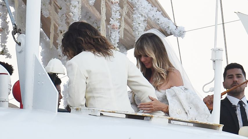 Tom Kaulitz und Heidi Klum im August 2019 auf Capri