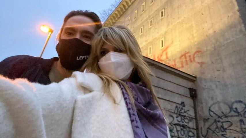 Tom Kaulitz und Heidi Klum im November 2020