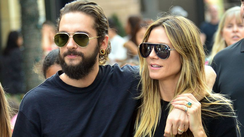 Tom Kaulitz & Heidi Klum shoppen verliebt in Los Angeles!