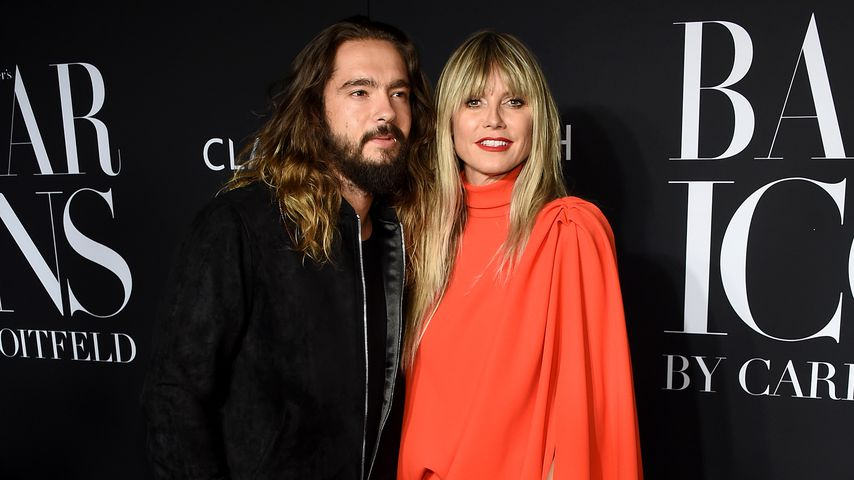 Tom Kaulitz und Heidi Klum in New York, 2019