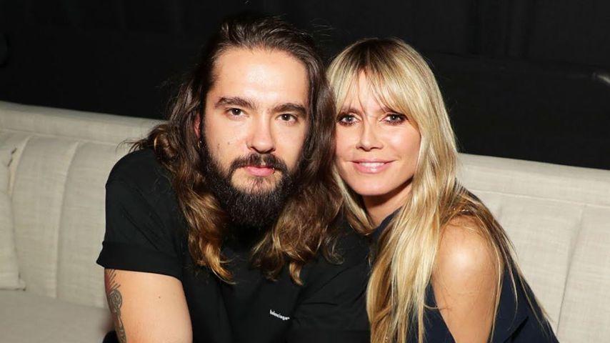 Tom Kaulitz und Heidi Klum im März 2020