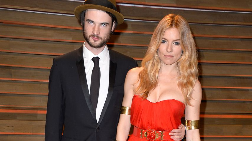 Tom Sturridge und Sienna Miller bei der Vanity Fair Oscar Party 2014