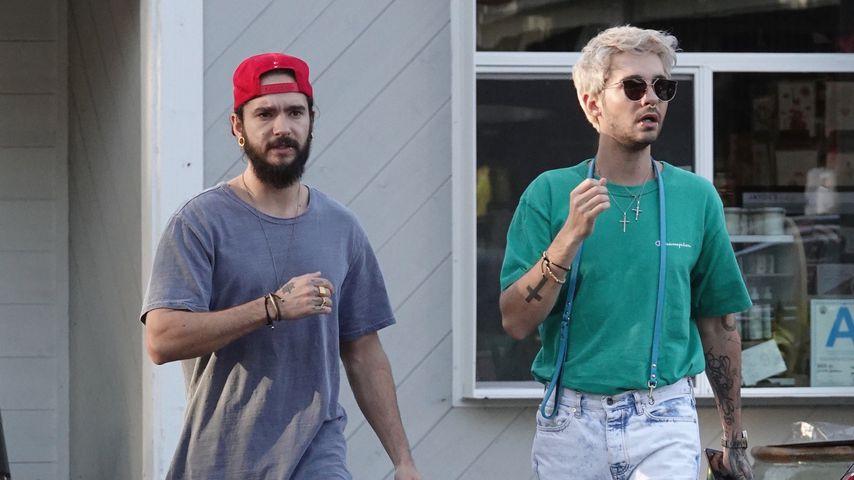 Tom & Bill Kaulitz zur Abwechslung ohne Heidi Klum unterwegs