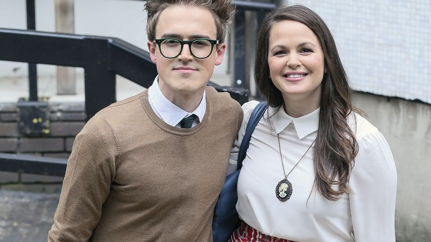Tom und Giovanna Fletcher bei den ITV-Studios in London