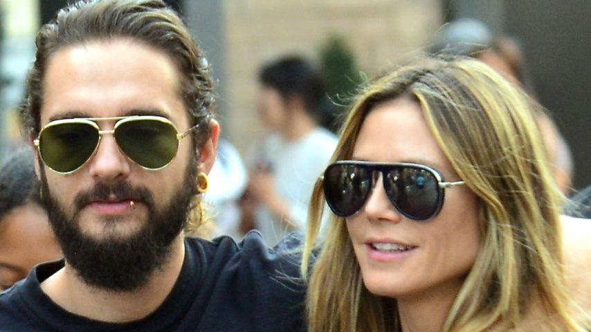Tom Kaulitz und Heidi Klum in Los Angeles