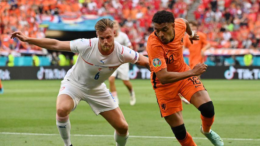 Tomáš Kalas beim EM-Spiel Tschechien gegen Niederlande