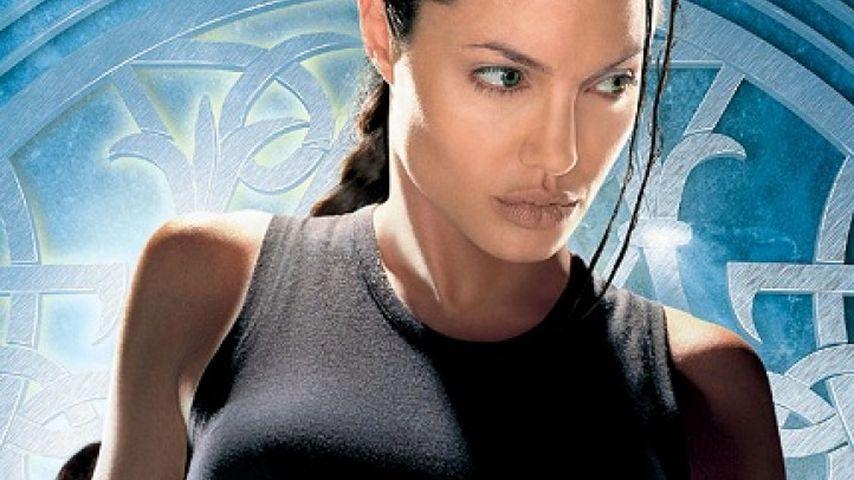 "Angelina Jolie in ""Tomb Raider"""