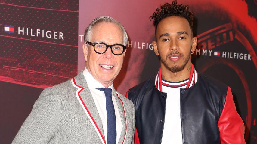 Tommy Hilfiger und Lewis Hamilton