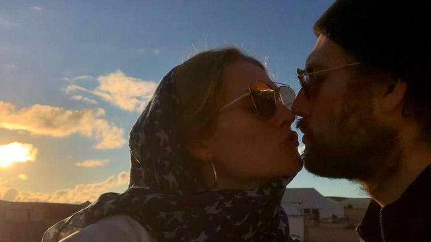 Süßes Turtel-Pic: Model Toni Garrn und ihr Alex so verliebt!