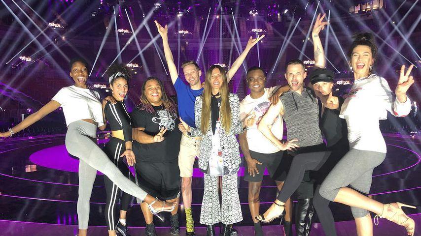Girl-Karaoke & Küsse: So ging das GNTM-Finale backstage ab!