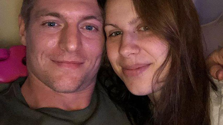 Toni und Jessica Kroos im Januar 2019