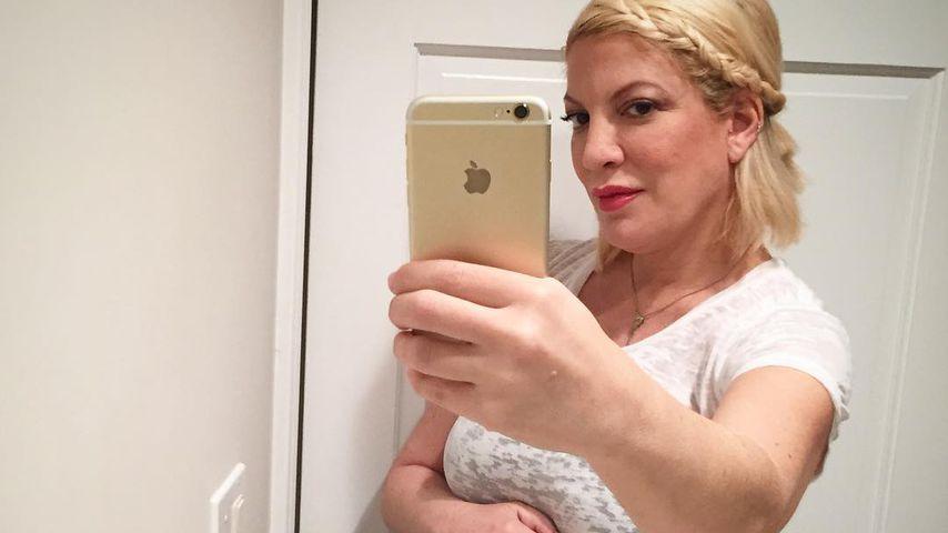 Schwangere Tori Spelling: So stolz ist sie auf Babybauch