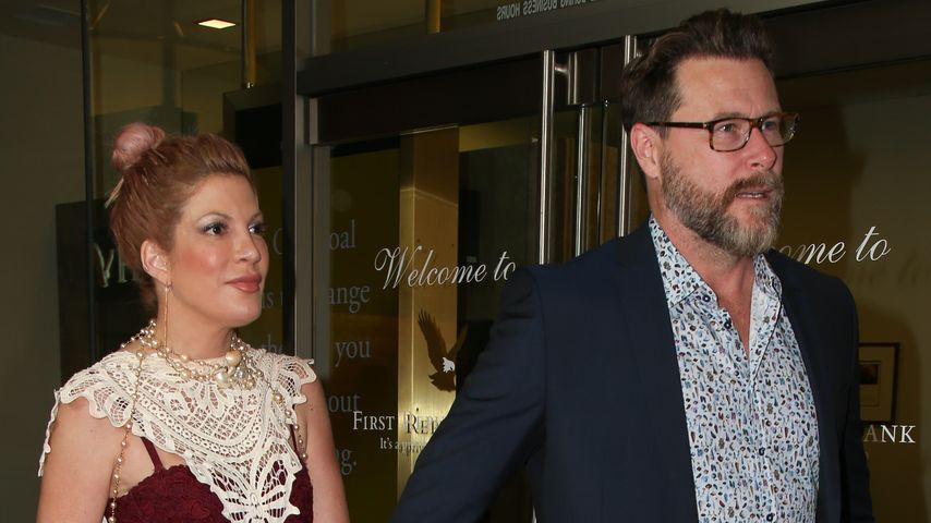 Tori Spelling mit Ehemann Dean McDermott