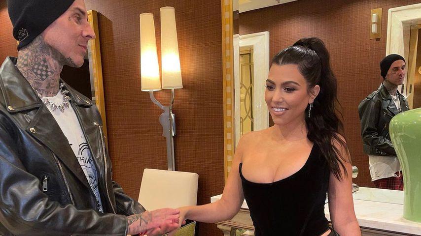 Travis Barker und Kourtney Kardashian in Las Vegas