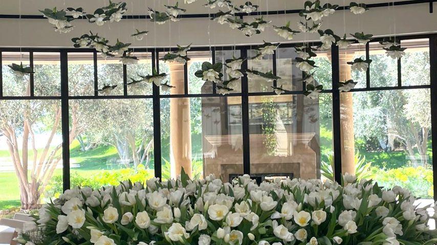 Travis Barkers Blumenarrangement für Kourtney Kardashian
