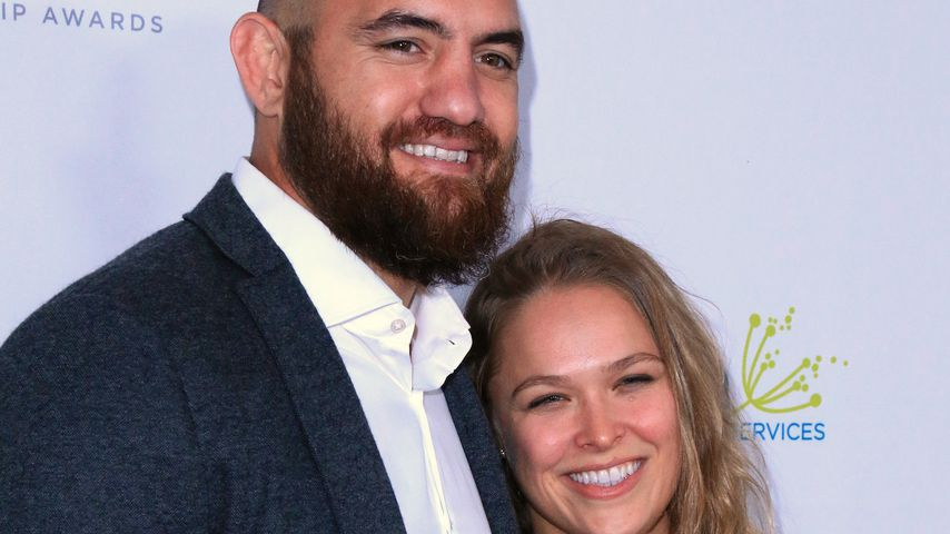 Travis Browne und Ronda Rousey 2016 in Los Angeles
