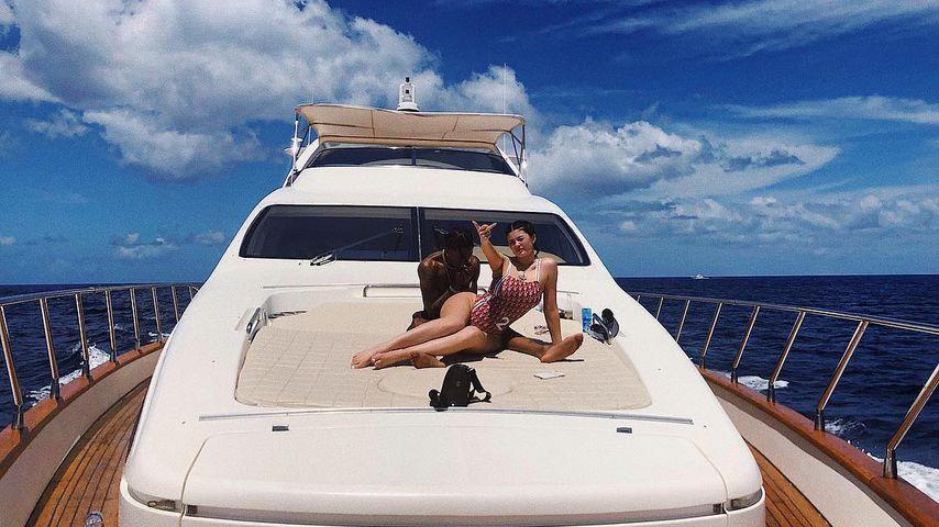 Travis Scott und Kylie Jenner im Urlaub