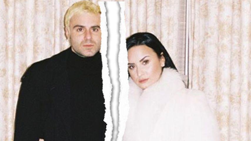 Nach vier Monaten Beziehung: Liebes-Aus bei Demi Lovato