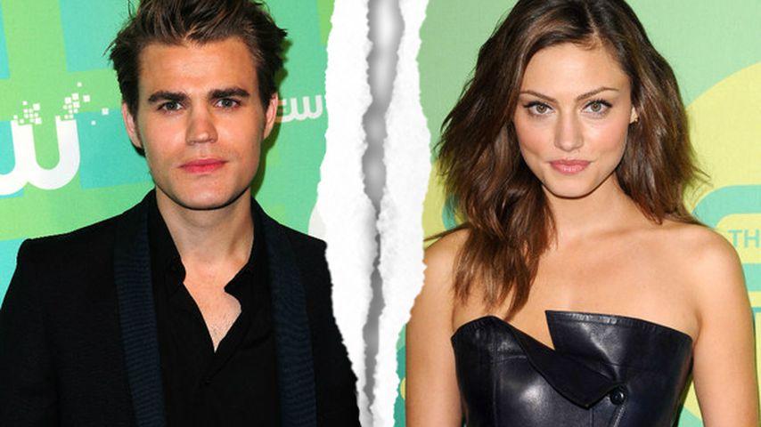 Schock! TVD-Star Paul Wesley & Phoebe Tonkin sind getrennt