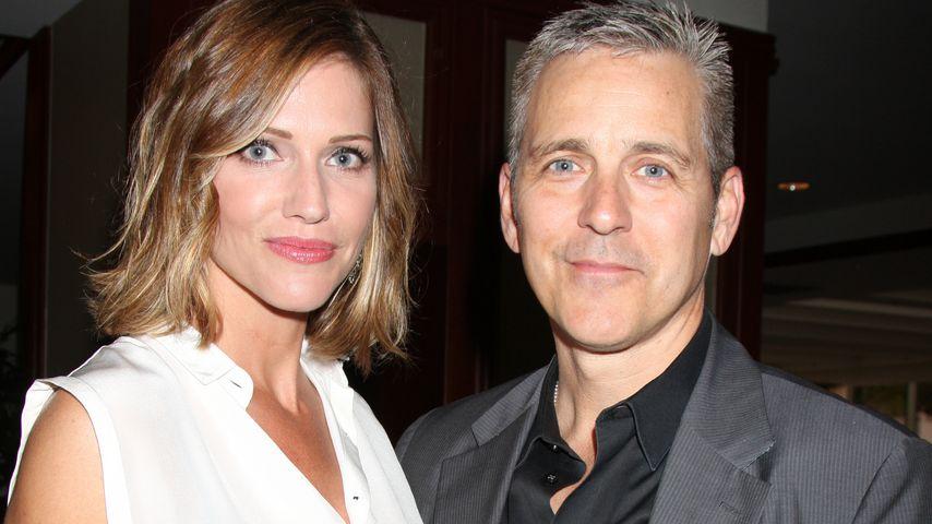 "Tricia Helfer und Jonathan Marshall bei der ""Grand Prix Foundation""-Gala 2014"