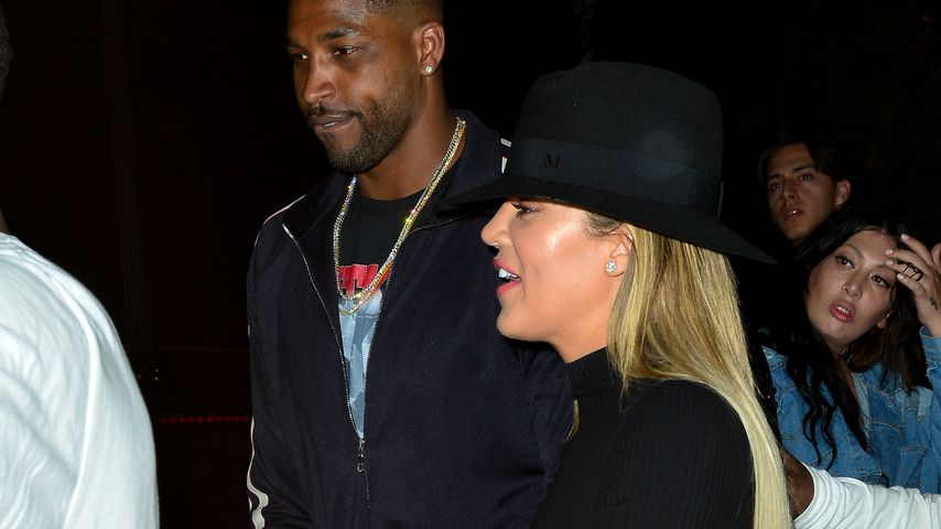 Tristan Thompson und Khloe Kardashian in Hollywood