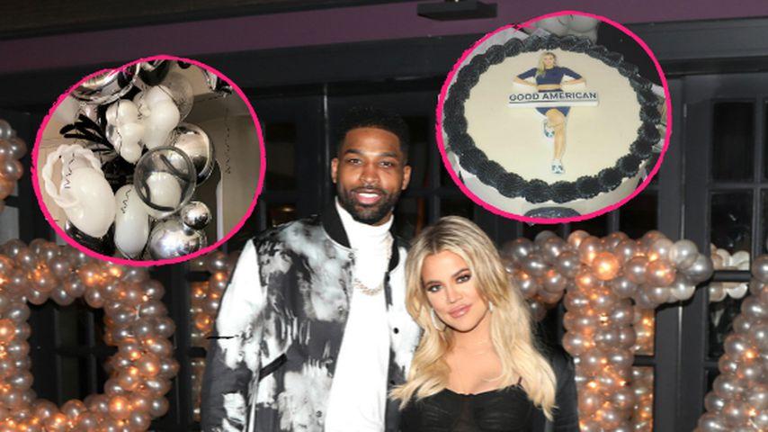 Mit Ballons & Torte: Tristan überraschte Khloe Kardashian!