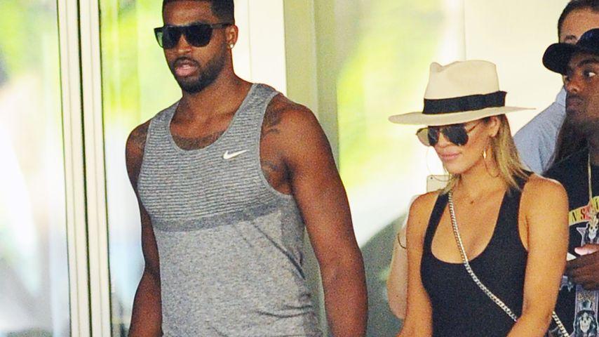 Hochzeit mit ihrem Tristan? Khloe Kardashian in Ehe-Laune
