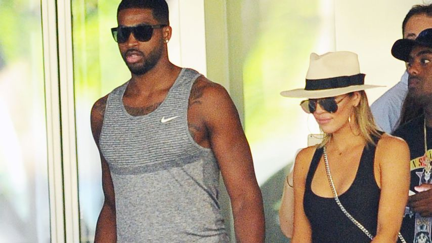 Tristan Thompson und Khloe Kardashian in Bal Harbor