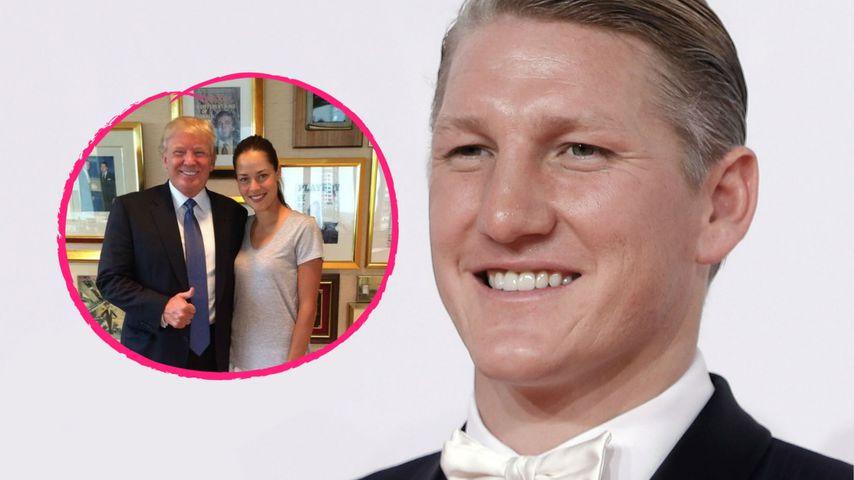 """Trump schwärmt von Schweinis Gattin Ana: """"Schönste Frau"""""""