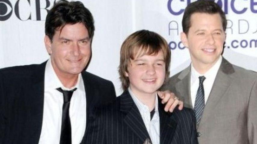 Charlie Sheen, Angus Turner Jones und Jon Cryer
