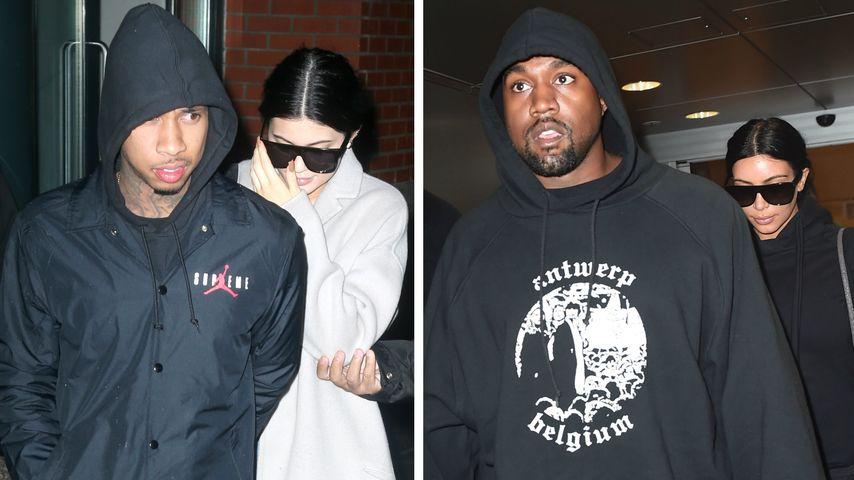 Kylie Jenner & Kim Kardashian: Kaum noch zu unterscheiden
