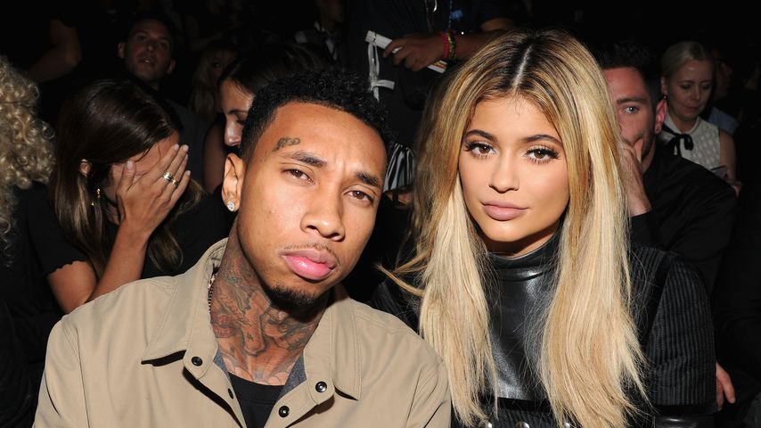 Tyga und Kylie Jenner bei der New York Fashion Week