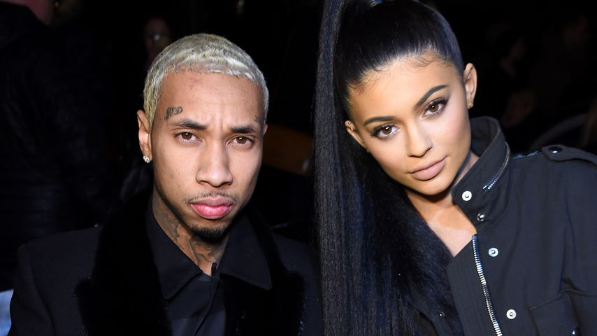 Tyga und Kylie Jenner bei der Fashion-Week in New York