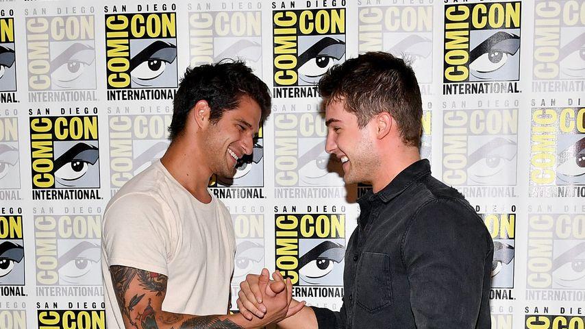 Tyler Posey und Cody Christian auf der Comic-Con in San Diego, 2017