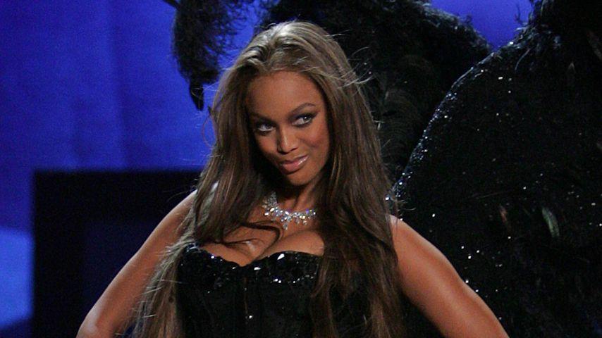 """Tyra Banks bei der """"Victoria's Secret""""-Show 2009"""