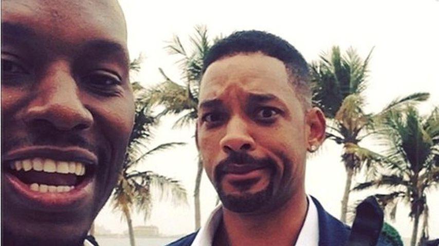 Tyrese Gibson und Will Smith