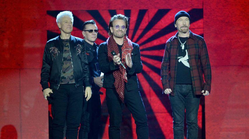 U2 bei den EMAs 2017