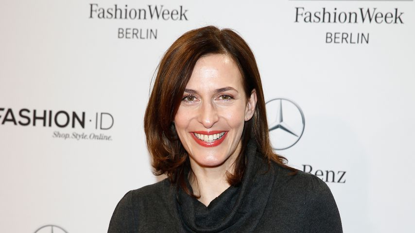 Ulrike Frank bei der Mercedes-Benz Fashion Week 2015